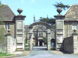 Main entrance to Corsham Court