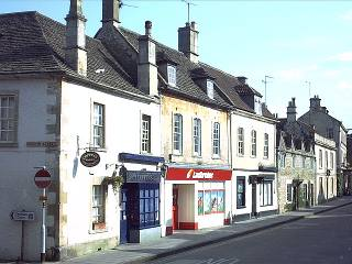 Corner of Church Street and the High Street.
