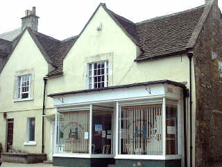 Pickwick Caravans (the shop) in '74, now a vets.