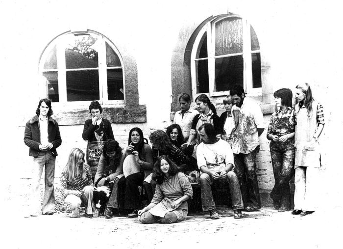 larger photo of the potters group 1973/74