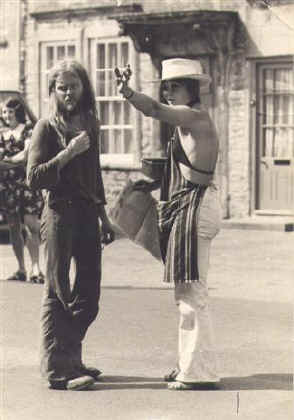 A Layabout in Lacock - 1974