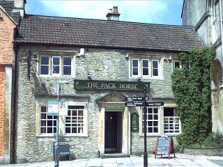 The Pack Horse, now The Flemish Weaver in 2004.