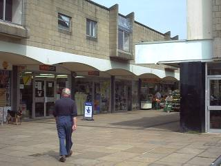 The 'new' shopping centre